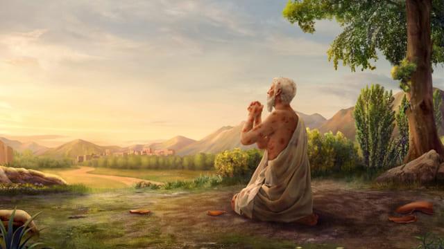 nelle prove Giobbe affidarsi a Dio