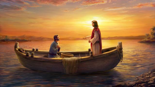 Pietro e il Signore Gesu