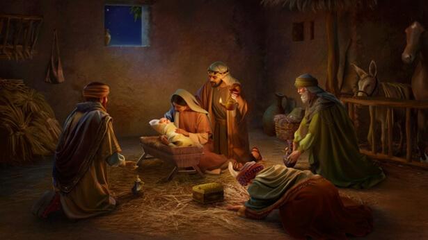 Il Signore Gesù nacque nel Natale