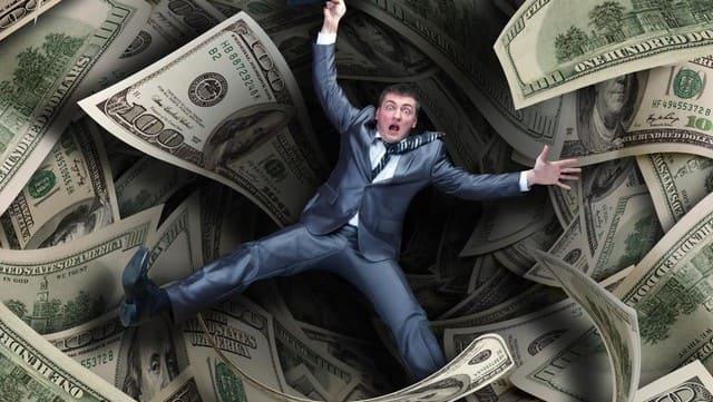 i soldi facci lontano da Dio