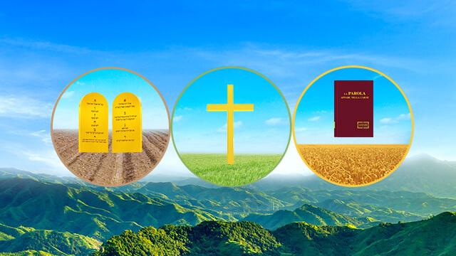 le tre fasi dell'opera di Dio, Jahve', Gesu', Dio Onnipotente