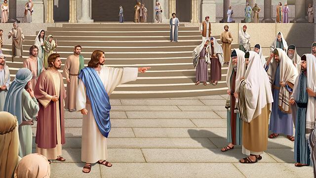 il Signore Gesù maledisse i farisei, l'essenza dei farisei