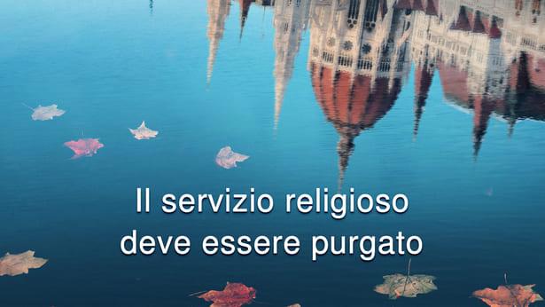 Il servizio religioso deve essere bandito